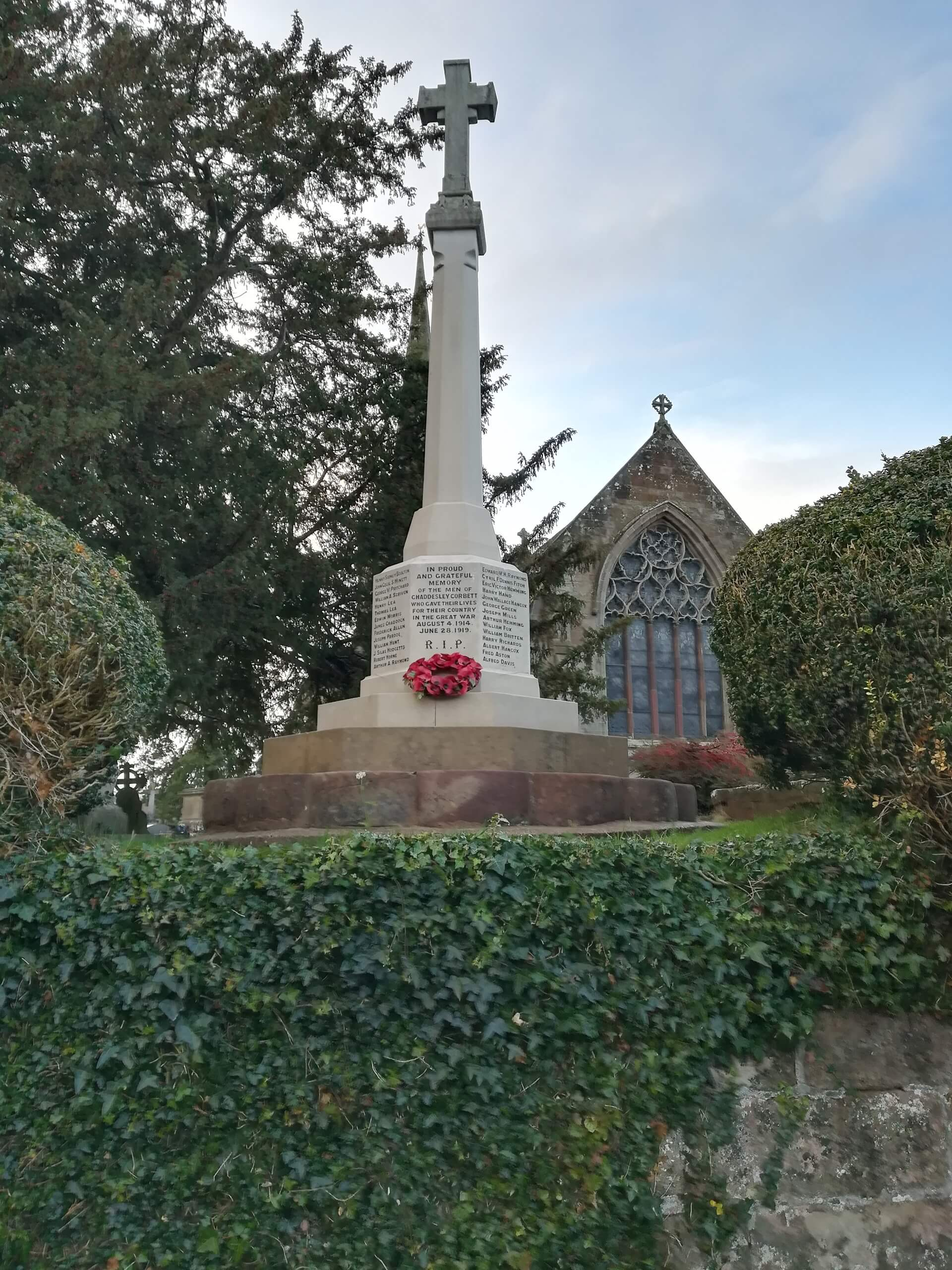 Remembrance Day Service Rededication of War Memorial 11/11/2018